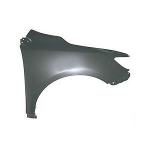New Passengerright Front Fender Primered For Toyota Corolla 09 13 To1241224 Fits 2010 Toyota Corolla
