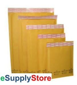 250 0 6 5x10 Kraft Bubble Mailer Padded Envelopes