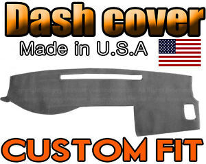 Fits 2005 2015 Toyota Tacoma Dash Cover Mat Dashboard Pad Charcoal Grey