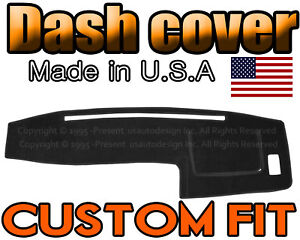 Fits 1998 2004 Toyota Tacoma Dash Cover Mat Dashboard Pad Black