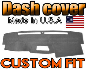 Fit 2004 2005 2006 2007 Nissan Armada Dash Cover Mat Dashboard Pad Charcoal Grey