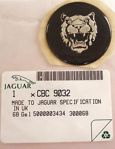 New Genuine Jaguar Xjs Xj6 Wheel Center Badge Cbc9032