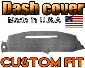 Fits 1997 1998 Gmc Sierra Dash Cover Mat Dashboard Pad Charcoal Grey