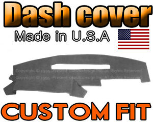 Fits 1991 1992 1993 1994 Gmc Sierra Dash Cover Mat Dashboard Charcoal Grey