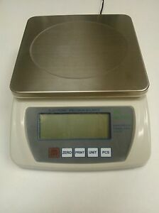 6000 x 0.1 GRAM Digital Counting Scale - HRB 6001