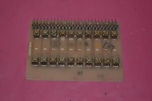 General Electric Circuit Board Card Ic3600scbd2a 68a989109g1 Rev B