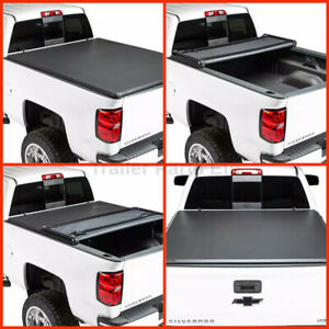 Tonneau Trifold Tonno Cover 2007 2013 Chevy Silverado 6 6 Bed New Free Shipping