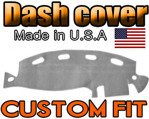Fits 1998 2001 Dodge Ram 1500 2500 3500 Dash Cover Mat Dashboard Light Grey
