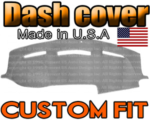 Fits 2010 2011 2012 2013 2014 2015 2016 Dodge Ram 3500 Dash Cover Mat light Grey