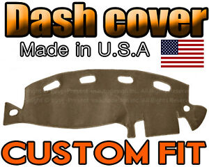 Fits 1998 2001 Dodge Ram 1500 2500 3500 Dash Cover Mat Dashboard Pad Taupe