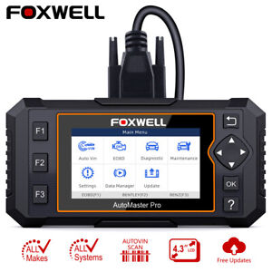 Foxwell Nt624 Airbag Abs Srs Engine Epb Reset Full Systems Scanner Oilreset Us