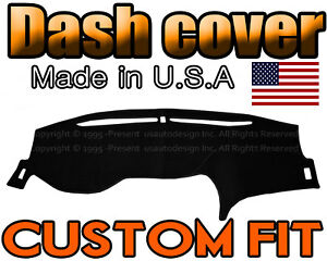 Fits 2013 2017 Honda Accord Dash Cover Mat Dashboard Pad Black