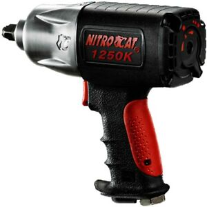 Aircat 1250 K Nitrocat 1 2 Xtreme Torque Composite Impact Wrench Free Ship