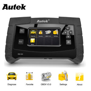 Full System Obd2 Scanner Abs Srs Esp Sas Diesel Diagnostic Scan Tools Autek 919