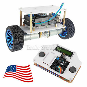 Sainsmart Instabots 2 wheels Self balancing Upright Rover Car V3 For Arduino Us
