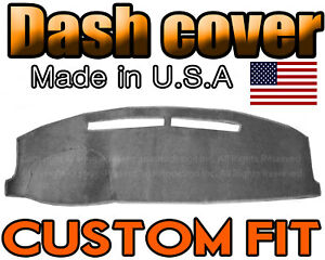 Fits 2008 2012 Honda Accord Dash Cover Mat Dashboard Pad Charcoal Grey