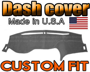 Fits 2013 2017 Honda Accord Dash Cover Mat Dashboard Pad Charcoal Grey