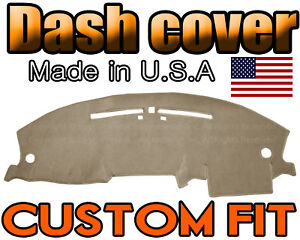 Fits 2003 2006 Ford Expedition Dash Cover Mat Dashboard Pad Beige