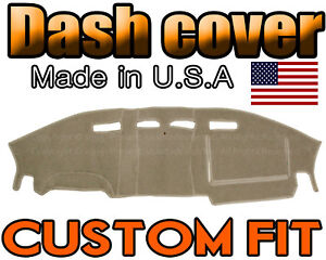 Fits 2006 2010 Ford Explorer Dash Cover Mat Dashboard Pad Beige