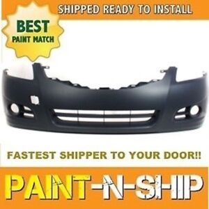 Fits New 2010 2011 2012 Nissan Altima Sedan Front Bumper Painted Ni1000268