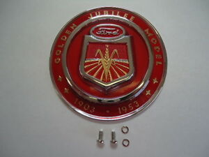 New Hood Emblem For Ford Jubilee Tractor Naa16600a Ford Licensed