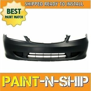 Fits 2004 2005 Honda Civic Coupe Front Bumper Painted To Match ho1000216