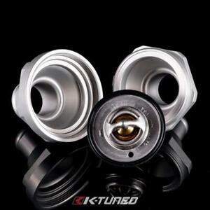 K Tuned Universal 1 25 Inline Billet Thermostat Housing W Stant Thermostat