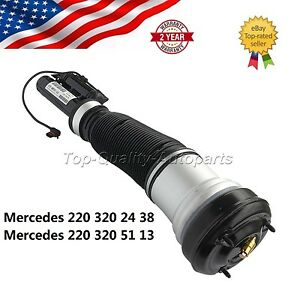 Front For Mercedes benz W220 S class Air Suspension Spring Absorber Air Shoc
