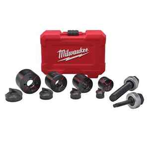 Milwaukee 49 16 2692 Milwaukee Exact 1 2 In To 1 1 4 In Knockout Set In Stock