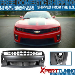 Fit 10 13 Chevy Camaro Zl1 Pp Polypropylene Front Bumper Cover Conversion Kit