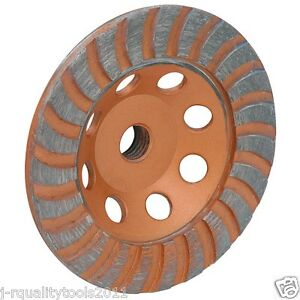 4 1 2 Inch Diamond Cup Grinding Grinder Wheel For Stone Concrete Surfacing