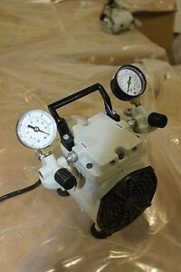 Welch Wob l Pump 2522b 01 Laboratory Vacuum Pump Pressure Working