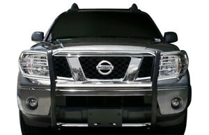 Apu Fit 05 20 Pathfinder Frontier Stainless Front Grille Brush Bumper Guard