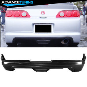 For 05 06 Acura Rsx Coupe Mugen Poly Urethane Rear Bumper Lip Spoiler Bodykit