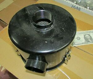 Air Cleaner Assembly Filter 1 1 2 Npt In out Air Compressor Stationary Engine