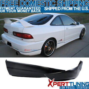 Brand New Rear Bumper Lip Abs Fit 94 97 Acura Integra 2pcs Valance Spats