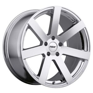 Benz Ml450 Ml500 Ml55 Ml63 Gl500 20 20x10 5x112 Tsw Chrome Wheels