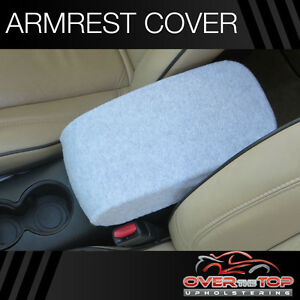 Chevrolet Tahoe D3r Light Gray Armrest Cover For Console Lid 2002 2004