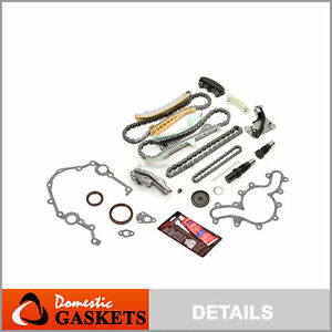 97 09 Ford Mercury Land Rover Mazda 4 0l Timing Chain Kit cover Gasket no Gears