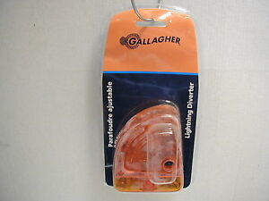 Gallagher Lightning Diverter Brand New Protects Fence Charger