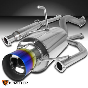 For Honda 92 95 Civic 2 4dr Ex Dx Lx 96 00 Civic Ex S s Exhaust Catback System