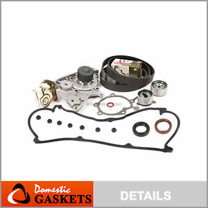 88 93 Ford Probe Mazda 626 B2200 Mx6 2 2l Timing Belt Water Pump Valve Cover Kit