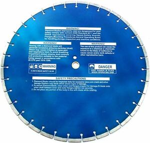 20 Laser Welded Segment Concrete Diamond Saw Blade For Industrial Use