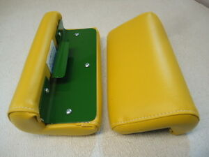 New Set Of Arm Rest Rests W Clips John Deere A B D G R 50 60 70 520 530