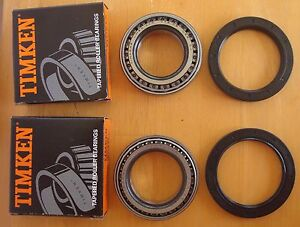 Jaguar Xjs 94 95 96 Xj6 Xj12 Xj8 Xk8 Timken Rear Wheel Bearing Kit Jlm1708