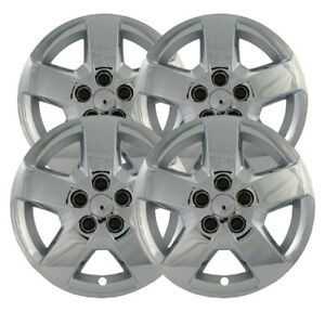 16 Chrome Bolt On Hubcaps Wheel Covers For 2007 2011 Chevy Hhr