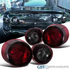 Chevy 05 10 Cobalt 2dr Coupe Replacement Tail Lights Brake Stop Rear Lamps Smoke