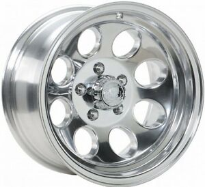 New 15 X 8 Ion 171 Polished Alloy Wheel For Jeep Wrangler Tj Yj 5 On 4 5