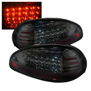 Pontiac 97 03 Grand Prix Smoke Led Rear Tail Lights Brake Lamp Set Gtp Gt Se