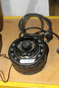 Very Nice Variac V20 General Radio Variable Transformer